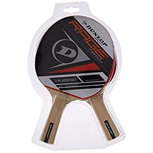Dunlop AC Rage Match Set of 2 Table Tennis Bats Review 2018 by Dunlop