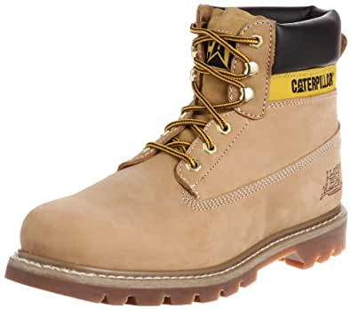 "Caterpillar Colorado 6"" Bottines en cuir pour homme-Brown-40.5"