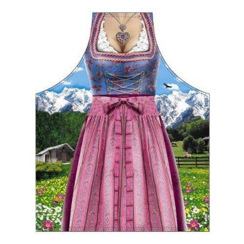 Schürze Bavarian Woman Traditional für Grill und Küche -