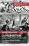 La Prohibition ou la lutte contre l'alcool par Convard