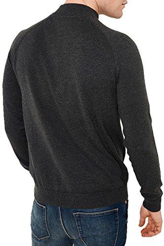 Threadbare - Pull - Pull - Homme noir noir Small Charcoal Marl - Grey