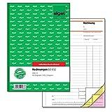 Sigel SD032 Rechnungen, A5, 3x40 Blatt, selbstdurchschreibend, 1 Stück