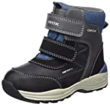 Geox Baby Jungen B New Gulp Boy B ABX A Stiefel, Grau (Dk Grey/Avio), 22 EU