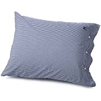Lexington Icons American Seaside Check Standard Pillowcase, Navy/White