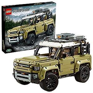 LEGO - Technic Land Rover Defender, Set di Costruzioni e Idea Regalo per Ragazzi di +11 Anni e per i Veri Appassionati… 5702016604115 LEGO