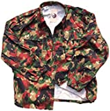 Swiss Army Alpenflage Fatigue Jacket/Heavy Shirt