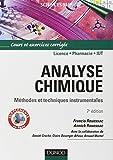 Analyse chimique - Méthodes et techniques instrumentales