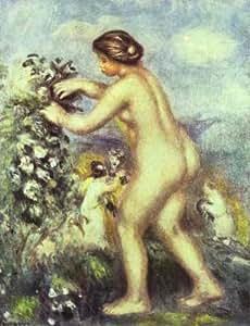 Reproduction 90 x 120 cm - Pierre-Auguste Renoir - ode à fleurs -