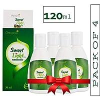 Nectarea Sweet Light Drops 120 ml Zero Calorie Sugar Free Liquid Sweetener - Pack of 4 (2400 Drops)