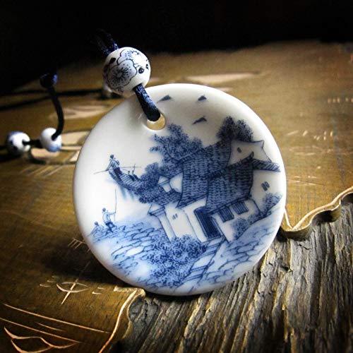VIOY Keramik Handwerk Ornamente Vintage Kleidung Pullover Kette Günstige Weben Artikel Geschenke,Abschnitt b,Einheitsgröße (Günstige Keramik-vasen)