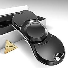 edc portátil Mushroom & spinner, aopetio 100% de metal Mano Spinner para aliviar el estrés la ansiedad añadir ADHD Focus tu mente