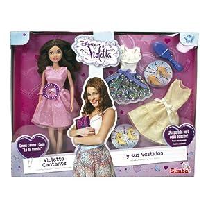 Violetta - Cantarina y Sus Vestidos, muñeca, Multicolor (Simba 5730364)