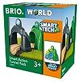 BRIO World 33935 - Smart Tech Action Tunnels Geschwindigkeit Zubehörteil Holzeisenbahn von BRIO