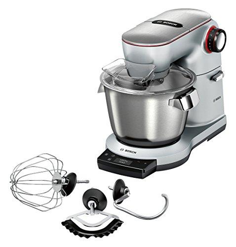 Bosch MUM9AE5S00 Optimum Robot de cuisine, 5,5L, 1500W, acier