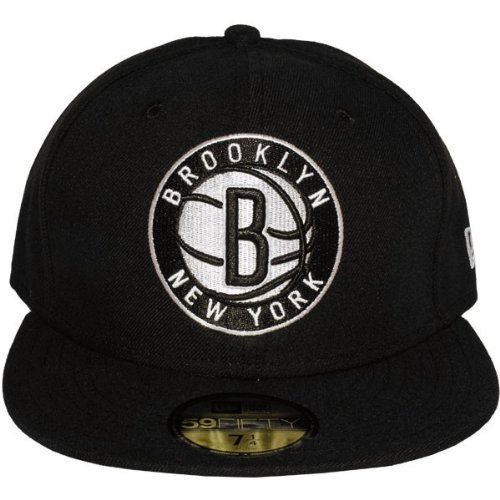 New Era - Casquette Fitted 59Fifty Brooklyn Nets Team Secondary Logo - Taille 7