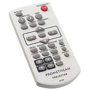 Promethean PRM-30-REMOTE IR Wireless Boutons poussoirs Blanc télécommande - Télécommandes (Projecteur, IR Wireless, Boutons poussoirs, Blanc)