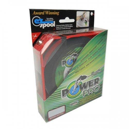 PowerPro Spectra Faser Geflochtene Angelschnur, 21100500500V, Vermilion Red, 500YD/50LB