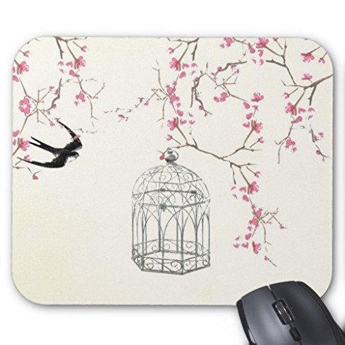 gaming-mouse-pad-cherry-blossom-bird-birdcage-rectangle-office-mousepad-229-x-178-cm