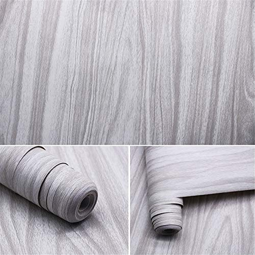 lsaiyy 45CMPVC Auto-Adhesivo imitación de Grano de Madera Muebles de imitación guardarropa...