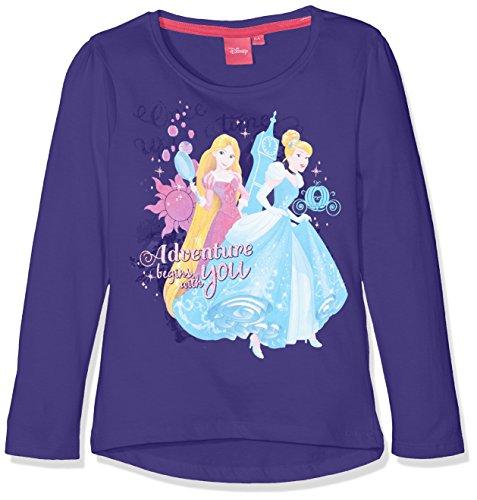 Disney Mädchen T-Shirt Strong Princess, Violett, 4 (Herstellergröße: 104) Preisvergleich