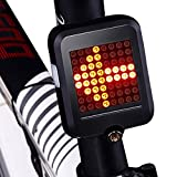 Inbike, indicatori di direzione per bicicletta, mountain bike, automatico, fanale posteriore, ricarica USB