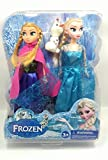 #3: Frozen Dolls Princess Anna and Elsa With Olaf - Multi Colour
