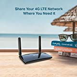 TP-Link Archer MR400 AC1200 Dual Band 4G Mobile Wi-Fi, SIM Slot Unlocked, No Configuration Required, Removable Wi-Fi Antennas Router(Black)