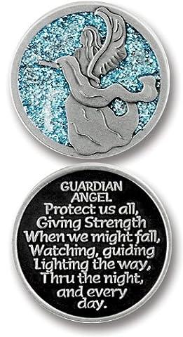 Cathedral Art PT627 Gaurdian Angel Companion Unique Decorative Coin, 1-1/4-Inch
