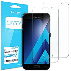 Spigen 573FL21222 Galaxy A5 2017 Clear screen protector 2pc(s) screen protector - Screen Protectors (Clear screen protector, Samsung, Galaxy A5 2017, Scratch resistant, Transparent, 2 pc(s))