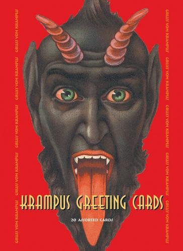 Beauchamp Sammlung (Krampus Greeting Cards Set One: 20 Assorted Cards in Deluxe Tin)