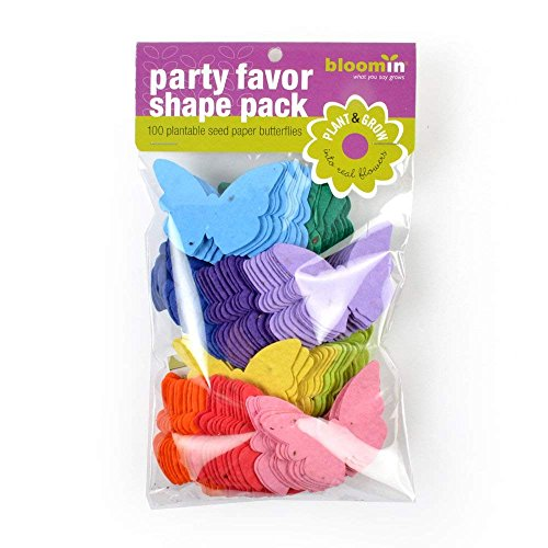 Bloomin semillas paquetes de papel formas–Mariposa Formas–25Formas por pack mezcla {color}