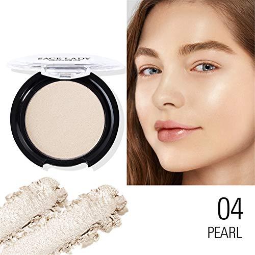 Blush-Palette, Blush Face Studio, Pressed Powder, Wasserdichter, lang anhaltender, heller Rougepuder, der den Teint glänzender Haut aufhellt