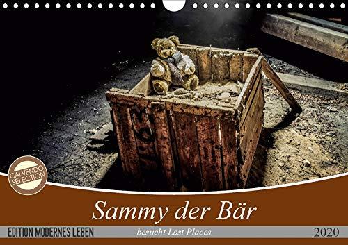 Sammy der Bär besucht Lost Places (Wandkalender 2020 DIN A4 quer): Bilder die Geschichten erzählen (Monatskalender, 14 Seiten ) (CALVENDO Kunst) (Die Geschichte Der Teddy Bären)