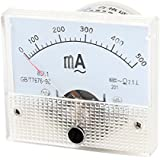 AC 0-500mA Amperímetro Analógico Analogo Panel Ampmeter Metros Medidor