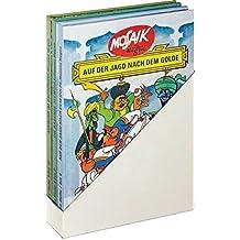 Mosaik von Hannes Hegen: Wie alles begann. Buchausgabe der ersten zwölf Hefte des Kult-Comics aus der DDR: Dreibändige Buchausgabe der Hefte 1 bis 12