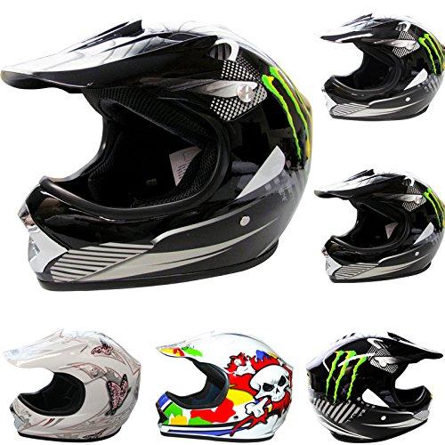 *Venta de Navidad* Leopard LEO-X18 Casco de Motocross Para Niños Bici
