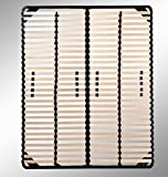 i-flair® - Lattenrost 180x200 cm, Lattenrahmen - für alle Matratzen geeignet