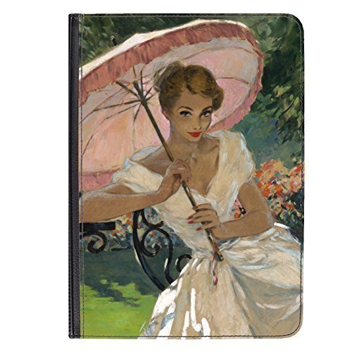Pin Up Girl Pink Umbrella Hülle für Universal Tablet 7