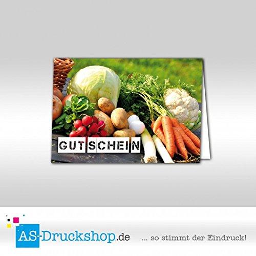 Gutschein Hofladen – Querbeet / 25 Stück/DIN A6