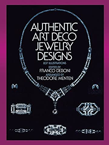 Authentic Art Deco Jewelry Designs (Dover Jewelry and