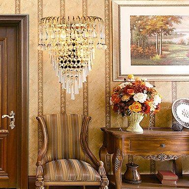 YYHAOGE Protection Des Yeux De Cristal Pour Chambre À Coucher Contemporain Couloir Metal Wall Light 110-120V 220-240V 20W
