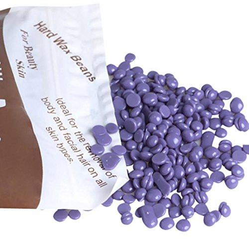 VENMO Cera depilatoria en perlas, Pellet de Cera Dura de Película Caliente Cera Frijol de Eliminación de Pelo 300g (E)