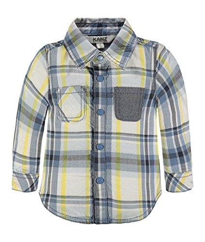 Kanz Baby-Jungen Hemd 1/1 Arm Mehrfarbig (Y/D Check 0002), 62