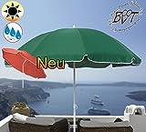 PREMIUM Sonnenschirm UV50+sonnendicht dunkelgrün / XXL Gartenschirm, Marktschirm, 180 cm / Durchmesser 1,80 m EDEL mit Volant, 8-teilig / 8-eckig massiv robust, Strandschirm,Sonnendach /Sonnenschutz Dach, XXL-Schirm, Gartenschirm extrem wetterfest, faltbar, tragbar, seewasserfest, hochwertig robust stabil, Sonnenschutz, stabiler Schirm Schirm, moosgrün, Strandschirme, Sonnenschirme, Sonnenschirm-Tische
