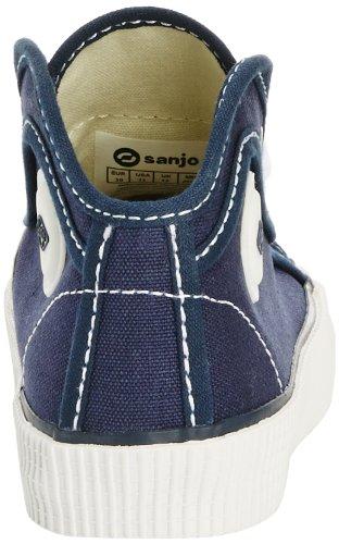 Sanjo K100 Jr, Formateurs mixte enfant Bleu (Navy)
