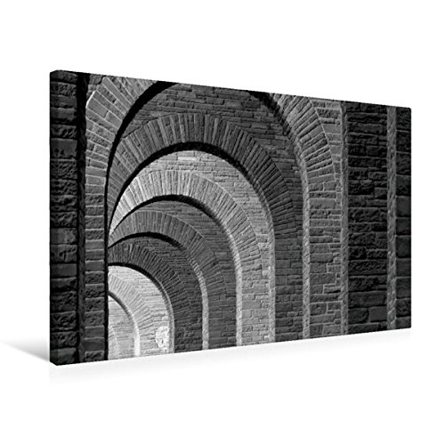 Premium Textil-Leinwand 75 cm x 50 cm quer, Bad Eilsen - Unter der Ahrensburger Brücke | Wandbild, Bild auf Keilrahmen, Fertigbild auf echter Leinwand, Leinwanddruck (CALVENDO Orte)