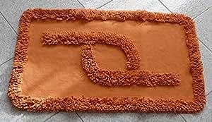 CASA TESSILE York tappeto bagno antiscivolo 53x85 cm - LILLA