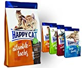 Happy Cat Atlantik Lachs 10 kg + 4x 300g