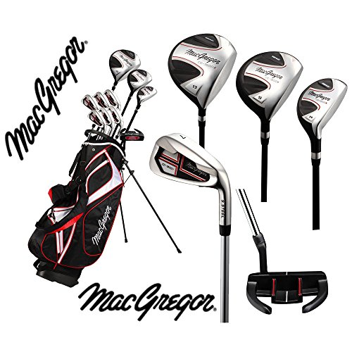 MacGregor Set de golf complet pour homme cg-1900x Haute Launch '50% off et support sac