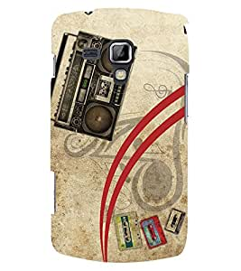PRINTSWAG TAPE RECORDER Designer Back Cover Case for SAMSUNG GALAXY S DUOS S7562